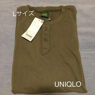 ユニクロ(UNIQLO)のソフトタッチ ヘンリーネックT 半袖(Tシャツ/カットソー(半袖/袖なし))