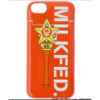ミルクフェド(MILKFED.)のミルクフェド  iPhone カバーケース セーラームーン  ヴィーナス 鏡付き(iPhoneケース)