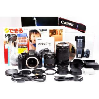 キヤノン(Canon)の❤高画質1800万画素❤️スマホ転送❣️Canon EOS KISS X4(デジタル一眼)