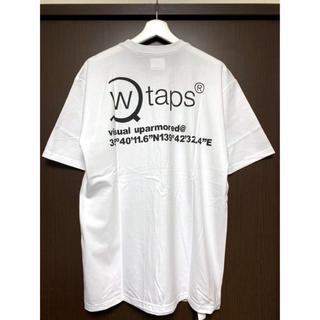 ダブルタップス(W)taps)のWTAPS SCREEN AXE TEE WHITE XLサイズ(Tシャツ/カットソー(半袖/袖なし))