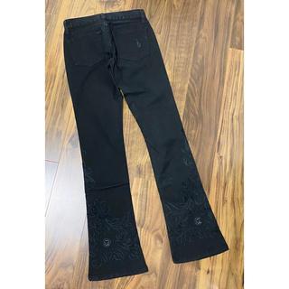 ラルフローレン(Ralph Lauren)のラルフローレン ブラックレーベル ラルフ ブラックデニム 刺繍 デニム パンツ(デニム/ジーンズ)