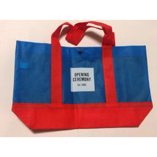 オープニングセレモニー(OPENING CEREMONY)のOC ショップバッグ(ショップ袋)