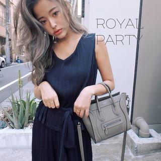 ロイヤルパーティー(ROYAL PARTY)のROYALPARTY♡プリーツ リエンダ エイミー リゼクシー エモダ Redy(オールインワン)