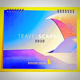 エーエヌエー(ゼンニッポンクウユ)(ANA(全日本空輸))の新品 2020 シンガポール航空 カレンダー (カレンダー/スケジュール)