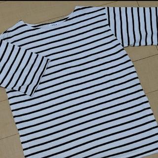 レプシィム(LEPSIM)の【新品未使用】LEPSIM ボーダーカットソー Tシャツ(Tシャツ/カットソー(半袖/袖なし))