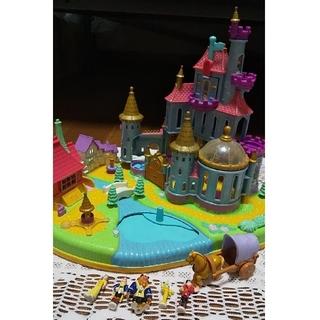 ディズニー(Disney)のポーリーポケット ひみつのコレクション 美女と野獣(キャラクターグッズ)