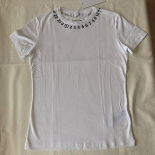 マルタンマルジェラ(Maison Martin Margiela)の新品未使用 【Maison Margiela】ロゴ Tシャツ Mサイズ(Tシャツ(半袖/袖なし))