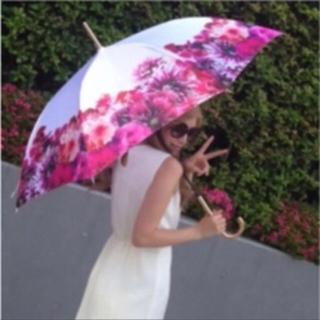 レディー(Rady)の★ちょりん様専用★Rady リゾートフラワー 傘 ホワイト(傘)
