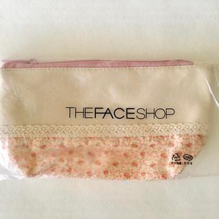 THE FACE SHOP - THE FACE SHOP ザ フェイスショップ コットンレース花柄 ポーチ