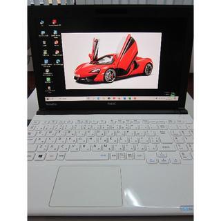 エヌイーシー(NEC)の美品 Core i7 VersaPro 新品SSD Win10 最新MSオフィス(ノートPC)