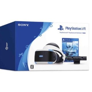 プレイステーションヴィーアール(PlayStation VR)のPlayStationVR WORLS 同梱版 即日発送 (家庭用ゲーム機本体)