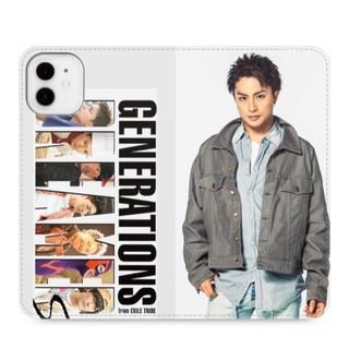 ジェネレーションズ(GENERATIONS)の白濱亜嵐 iPhone11 手帳型ケース GENERATIONS(iPhoneケース)