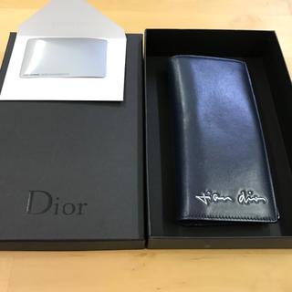 ディオール(Dior)の超希少 Monsieur Dior Signature Long Wallet(長財布)