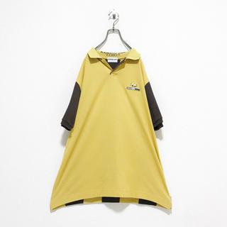 コムデギャルソン(COMME des GARCONS)のvintage ヴィンテージ 90s KENSHO ABE 変型 ポロシャツ(ポロシャツ)