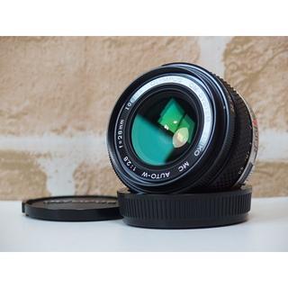 オリンパス(OLYMPUS)のOlympus ZUIKO MC AUTO-W 28mm F2.8 広角単焦点(レンズ(単焦点))