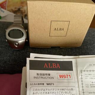 アルバ(ALBA)のアルバ スプーン(腕時計(デジタル))