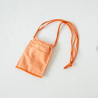 シールームリン(SeaRoomlynn)のECO LEATHER-LINE MINI BAG アプリコット(ショルダーバッグ)