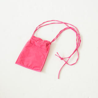 シールームリン(SeaRoomlynn)のECO LEATHER-LINE MINI BAG フラミンゴ(ショルダーバッグ)