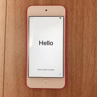 アイポッドタッチ(iPod touch)の第6世代 iPod touch Pink 32GB(ポータブルプレーヤー)