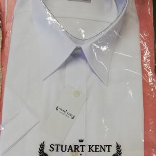 アオヤマ(青山)の新品 メンズ上質ワイシャツ 半袖39 形態安定性能 イージーアイロン(シャツ)