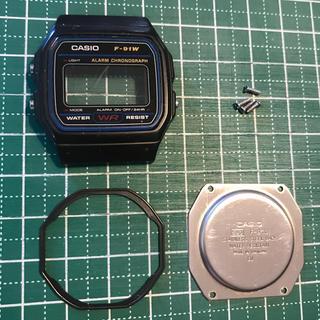 チープカシオ f-91w 腕時計 パー(腕時計(デジタル))