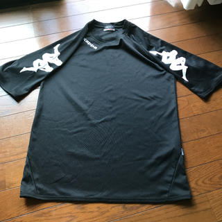 カッパ(Kappa)のkappa★黒Tシャツ★M(ウェア)
