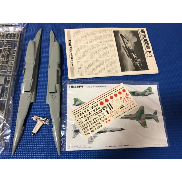 激レアプラモ 日本航空自衛隊支援戦闘機 三菱F-1 未組立 フジミ模型株式会社 エンタメ/ホビーのおもちゃ/ぬいぐるみ(模型/プラモデル)の商品写真