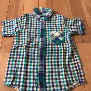 ティンカーベル(TINKERBELL)のティンカーベル120センチダブルガーゼのリバーシブルシャツ(Tシャツ/カットソー)