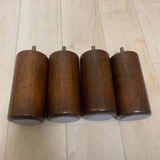 ムジルシリョウヒン(MUJI (無印良品))の無印 ベット 木製脚(脚付きマットレスベッド)