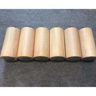 ムジルシリョウヒン(MUJI (無印良品))の脚付きマットレスベッド 脚 取替用(脚付きマットレスベッド)