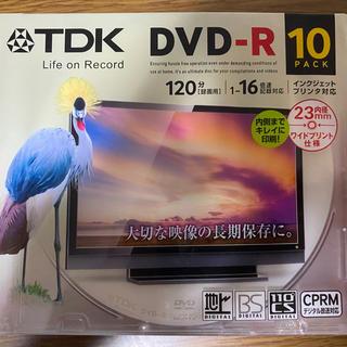 ティーディーケイ(TDK)のTDK DVD-R 10枚入り(その他)