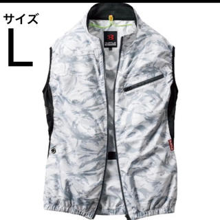 バートル 空調服 ベスト サイズL