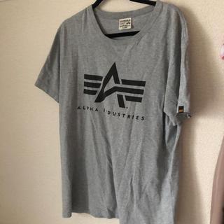 アルファインダストリーズ(ALPHA INDUSTRIES)のalpha industries tシャツ  APE applebum   (Tシャツ/カットソー(半袖/袖なし))