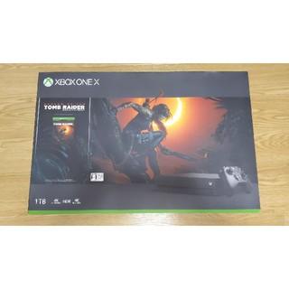 エックスボックス(Xbox)のXbox One X 1TB(家庭用ゲーム機本体)