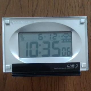 カシオ(CASIO)のCASIO電波目覚まし時計(置時計)