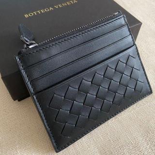 ボッテガヴェネタ(Bottega Veneta)の新品☆Bottega Veneta☆カード&コインケース ブラック(コインケース/小銭入れ)