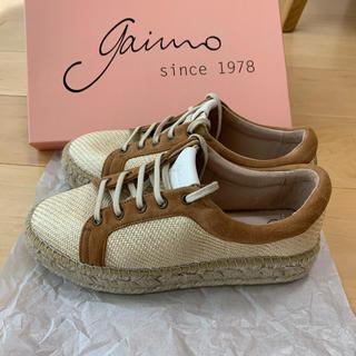 ガイモ(gaimo)のgaimo♡ガイモ♡ウエッジレースアップ♡(スリッポン/モカシン)