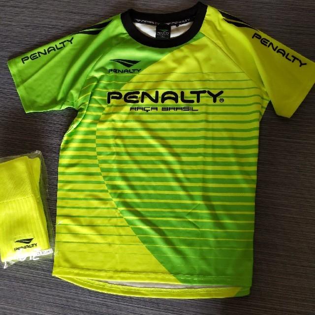 PENALTY(ペナルティ)のペナルティ 新品Tシャツとソックス スポーツ/アウトドアのサッカー/フットサル(ウェア)の商品写真