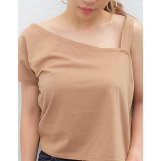 リゼクシー(RESEXXY)のワンショルカットトップス RESEXXY(Tシャツ(半袖/袖なし))