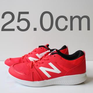ニューバランス(New Balance)の新品 ニューバランス KV570 OR レッド 25.0cm(スニーカー)