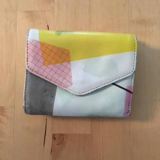 アッシュペーフランス(H.P.FRANCE)のsneeuw スニュウ 三つ折り財布 ミニ財布 エンベロープ(財布)