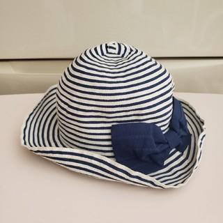 エニィファム(anyFAM)のanyFAM 女の子 帽子 52㎝(帽子)