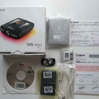 Canon - キャノン Canon iVIS  mini ブラックHD ビデオカメラ