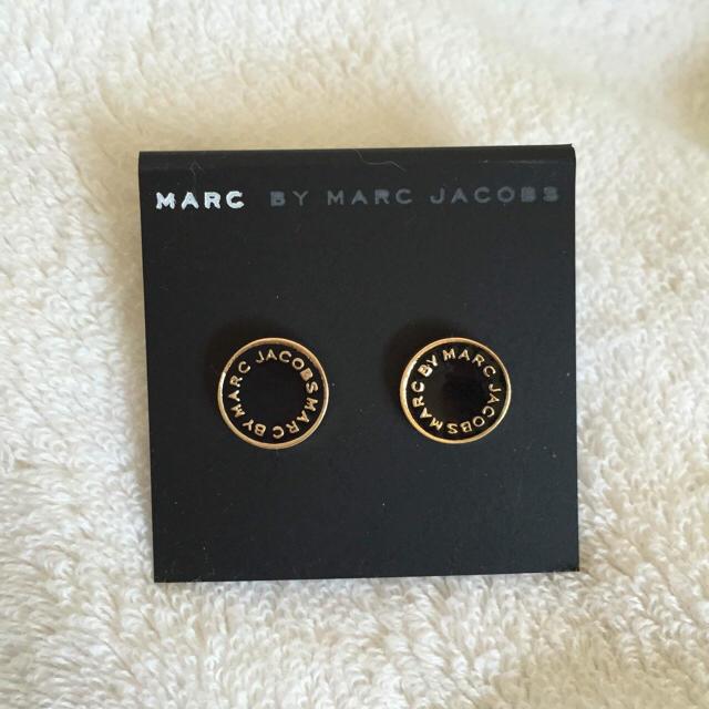 S-KMG様 ディスクブラックゴールド メンズのアクセサリー(ピアス(両耳用))の商品写真