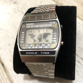 セイコー(SEIKO)のSEIKO アトラス ワールドタイム【実働品】(腕時計(デジタル))