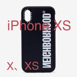 ネイバーフッド(NEIGHBORHOOD)のCASETIFY×NEIGHBORHOOD iPhoneXS X ケース(iPhoneケース)