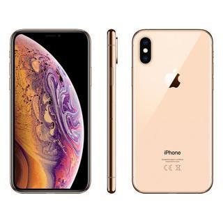 アップル(Apple)の【新品未開封】iPhone XS 256GB SIMフリー (ゴールド)(スマートフォン本体)