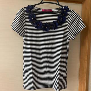 ドーリーガールバイアナスイ(DOLLY GIRL BY ANNA SUI)のボーダーTシャツ(Tシャツ(半袖/袖なし))