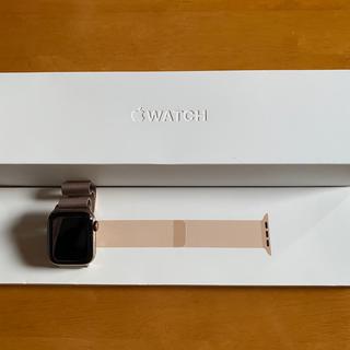 アップル(Apple)のApple Watch series4 40mm  ステンレス ローズゴール(腕時計(デジタル))