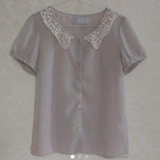 クチュールブローチ(Couture Brooch)のCouture broochブラウス(シャツ/ブラウス(半袖/袖なし))